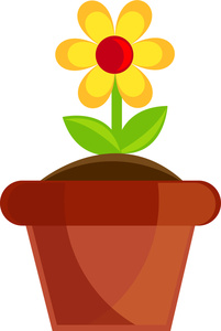201x300 Flower Clipart Image