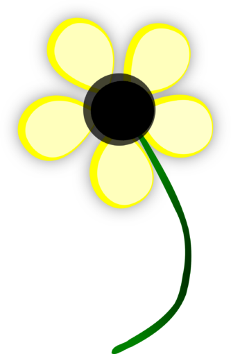 333x510 Yellow Daisy Clipart Daisy Clipart