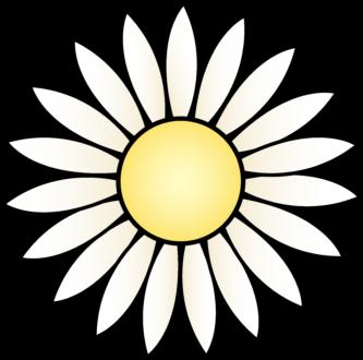 333x330 Yellow Daisy Clipart Daisy Clipart
