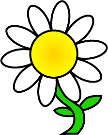 223x278 Yellow Flower Clipart Daisy
