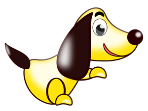 Yellow Dog Clipart