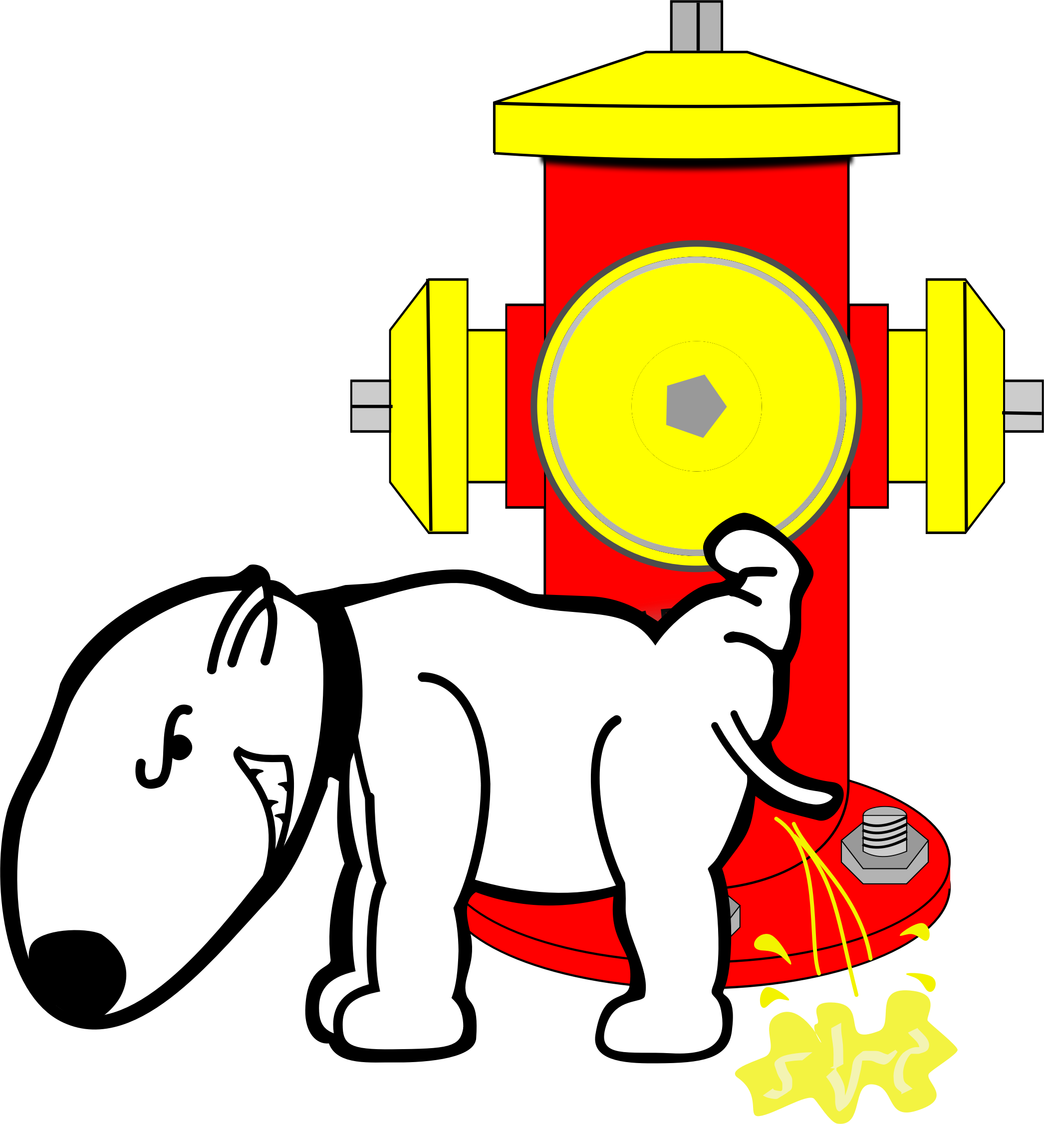 2092x2252 Hydrant Dog Clipart, Explore Pictures
