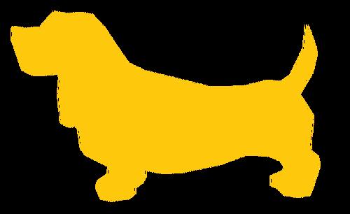 500x306 Yellow Dog Image Public Domain Vectors