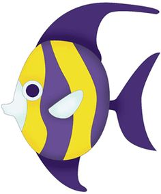 236x284 Striped Fish Clipart