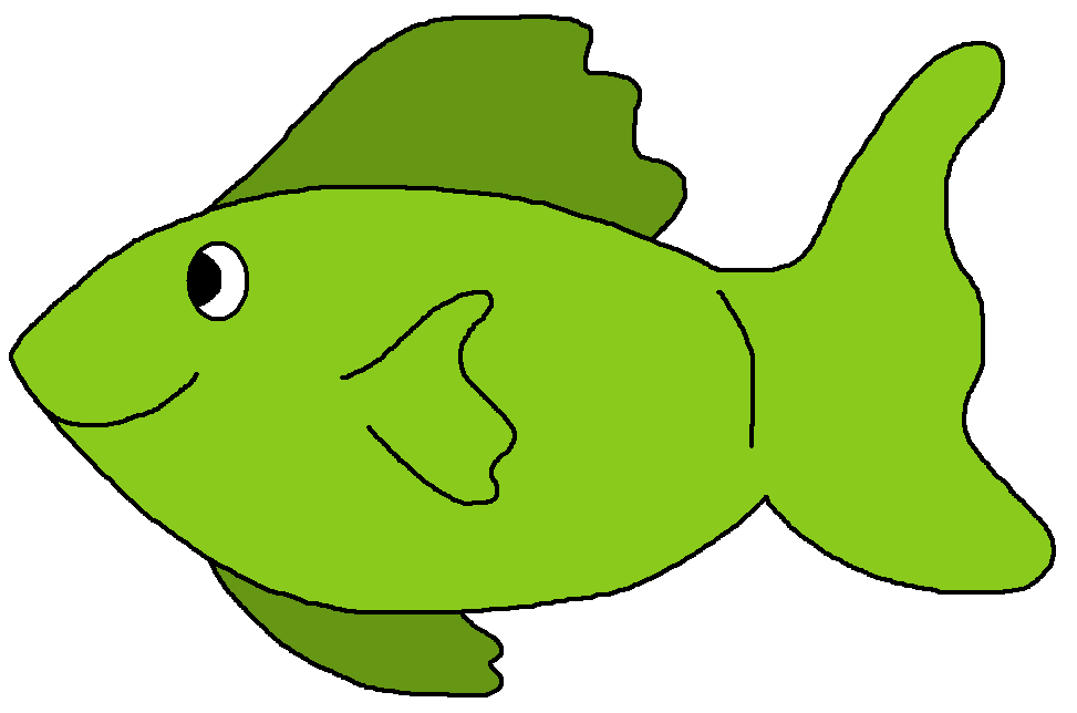 973x644 Cartoonfish Clipart