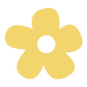 300x300 Clip Art Yellow Flowers