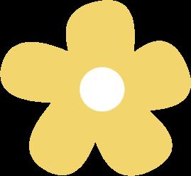 269x247 Yellow Flower Clip Art