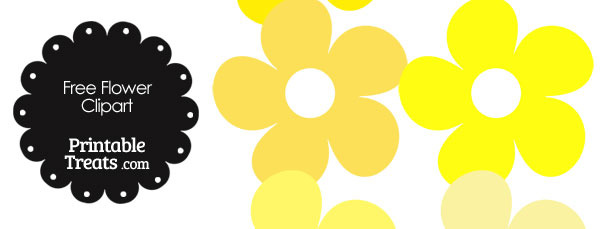 610x229 Bright Yellow Flowers Clip Art Cliparts