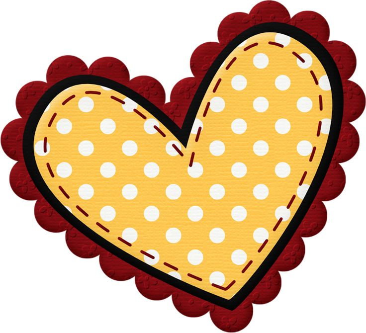 Yellow Heart Clipart