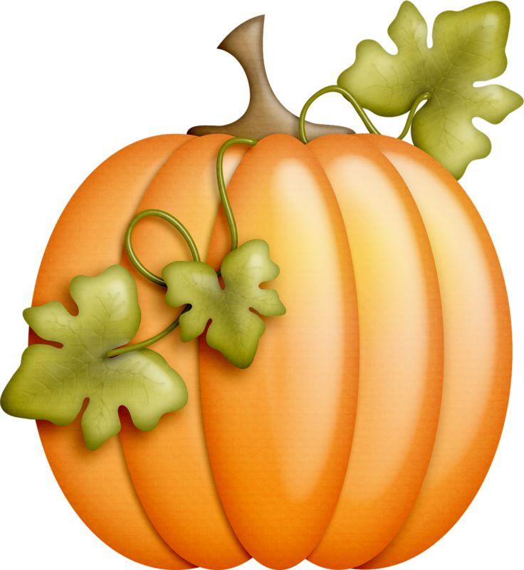 Yellow Pumpkin Clipart