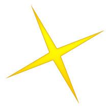 220x220 Gold Stars Clip Art Download