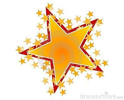 400x324 Yellow Star Clip Art