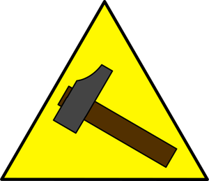 Yellow Triangle Clipart