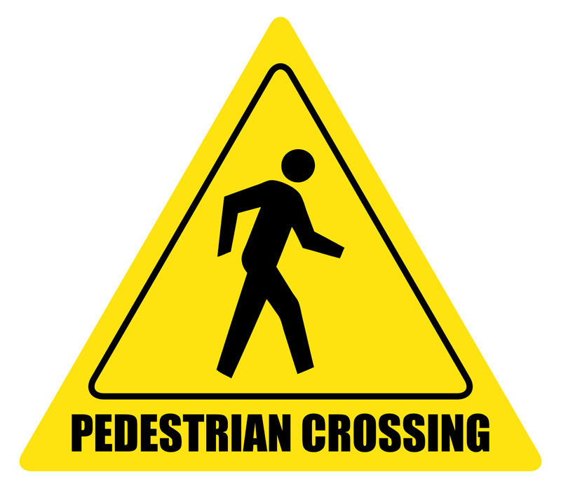 800x697 Road Clipart Pedestrian Lane