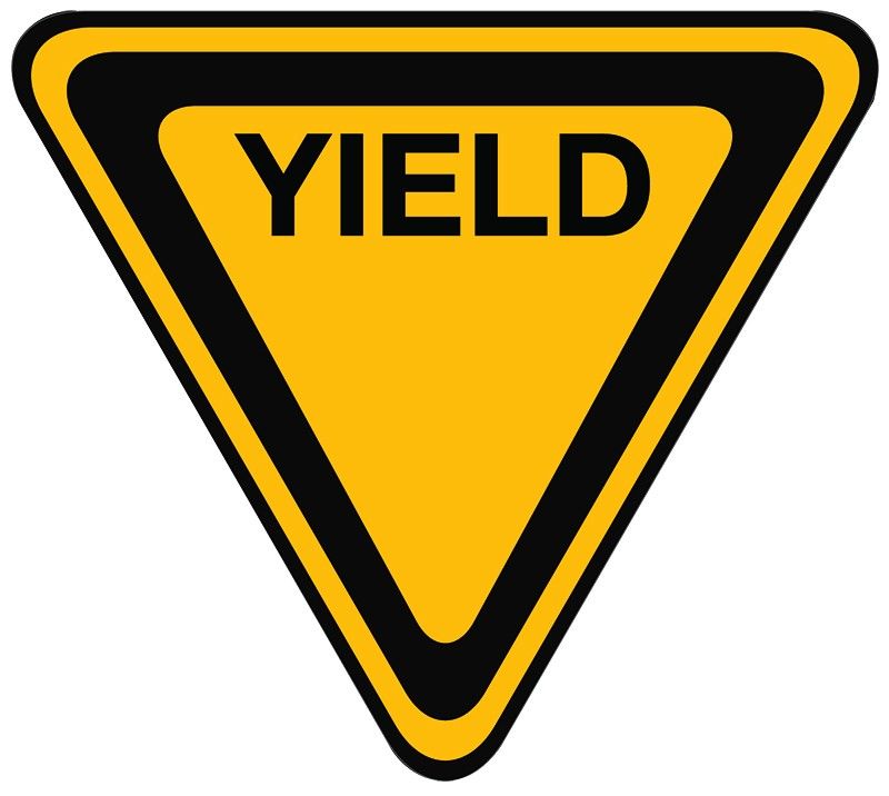800x716 Yield Sign Clip Art Many Interesting Cliparts
