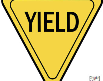 340x270 Yield Sign Etsy