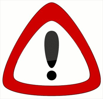 350x337 Caution Sign Caution Symbol Clip Art Clipartfest 3