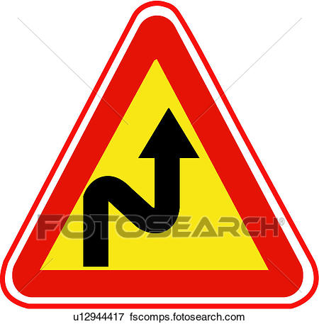 450x457 Clip Art Of Mark, Sign, Traffic U12944417