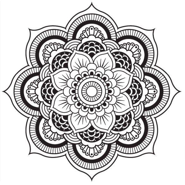 Yin Yang Coloring Pages