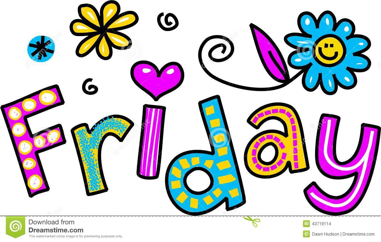1300x826 Free Clipart It's Friday