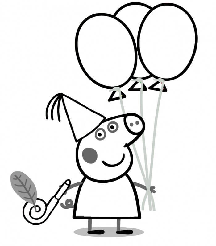 700x798 Peppa Pig Books Coloring Page] Peppa Pig Coloring Pages 02