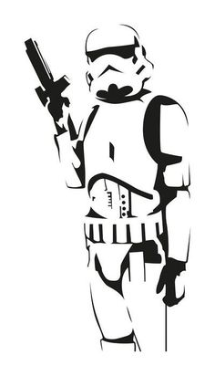 picture regarding Stormtrooper Stencil Printable named Yoda Clipart Black And White Free of charge obtain perfect Yoda