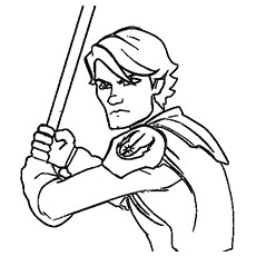 230x230 Luke Skywalker Coloring Page The Anakin Elegant From Star Wars