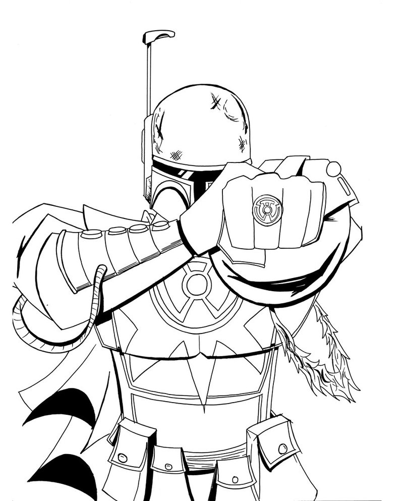 805x993 Star Wars Coloring Pages