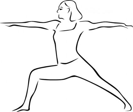 425x358 Yoga Poses Stylized Clip Art Yoga Yoga Poses, Clip