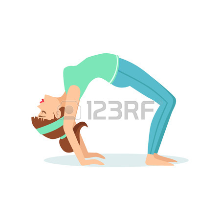 yoga girl drawing  free download on clipartmag