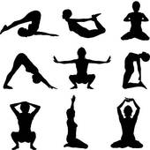 170x170 Clip Art Of Yoga Poses K19887879