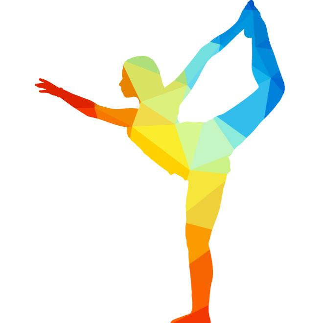 660x660 Yoga Pose Vector Graphics
