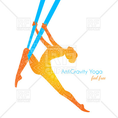 400x400 Anti Gravity Yoga Pose