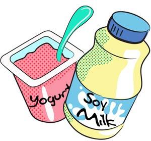 300x279 Probiotic Yogurt Clip Art Clipart
