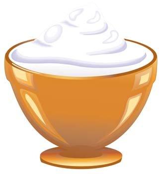 324x350 Yogurt, Clip Art