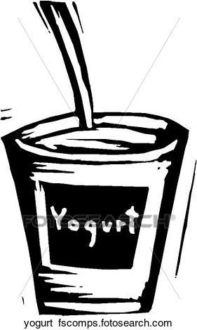 281x470 Clip Art Of Yogurt Yogurt