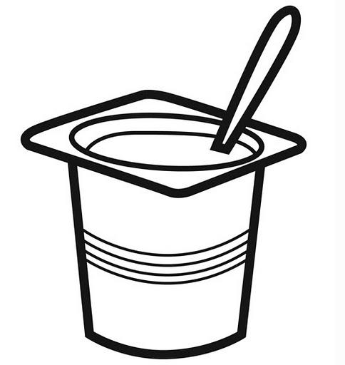 484x512 Clipart Yogurt Image 3