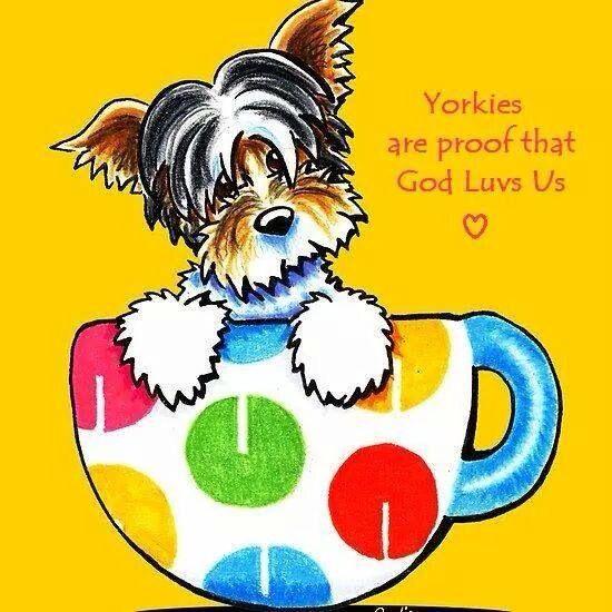 Yorkie Dog Clipart