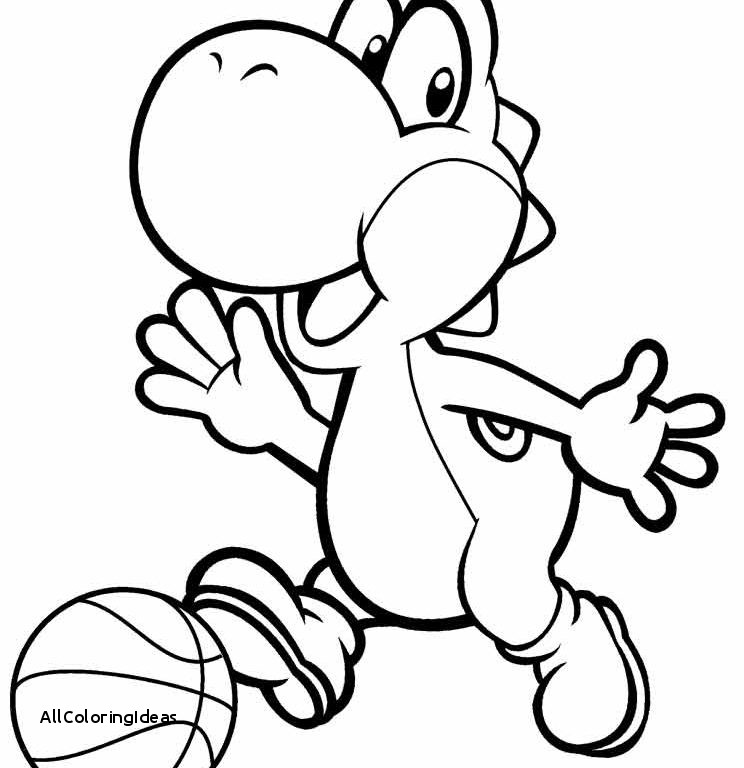 744x768 Free Yoshi Coloring Pages