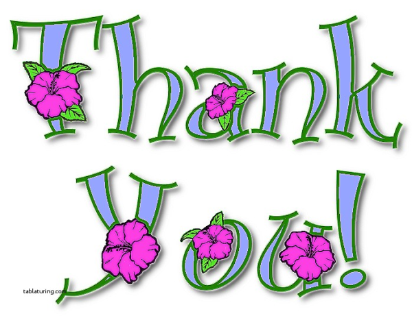 600x464 Thank You Cards Thank You Card Clip Art Luxury Thank You Border