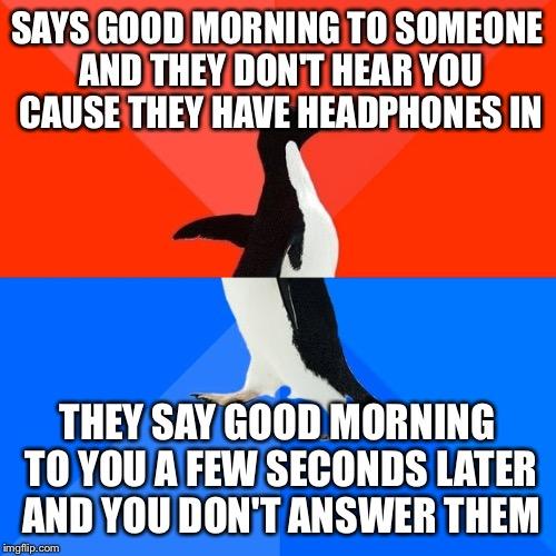 500x500 Socially Awesome Awkward Penguin Meme