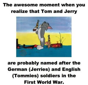300x290 The Awesome Moment When You Realize That Tom And Jerry Are