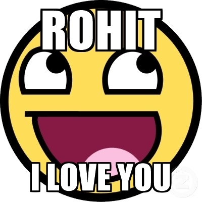 400x400 Rohit I Love You