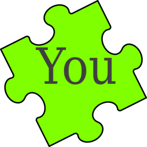 300x300 Puzzle Piece You Clip Art