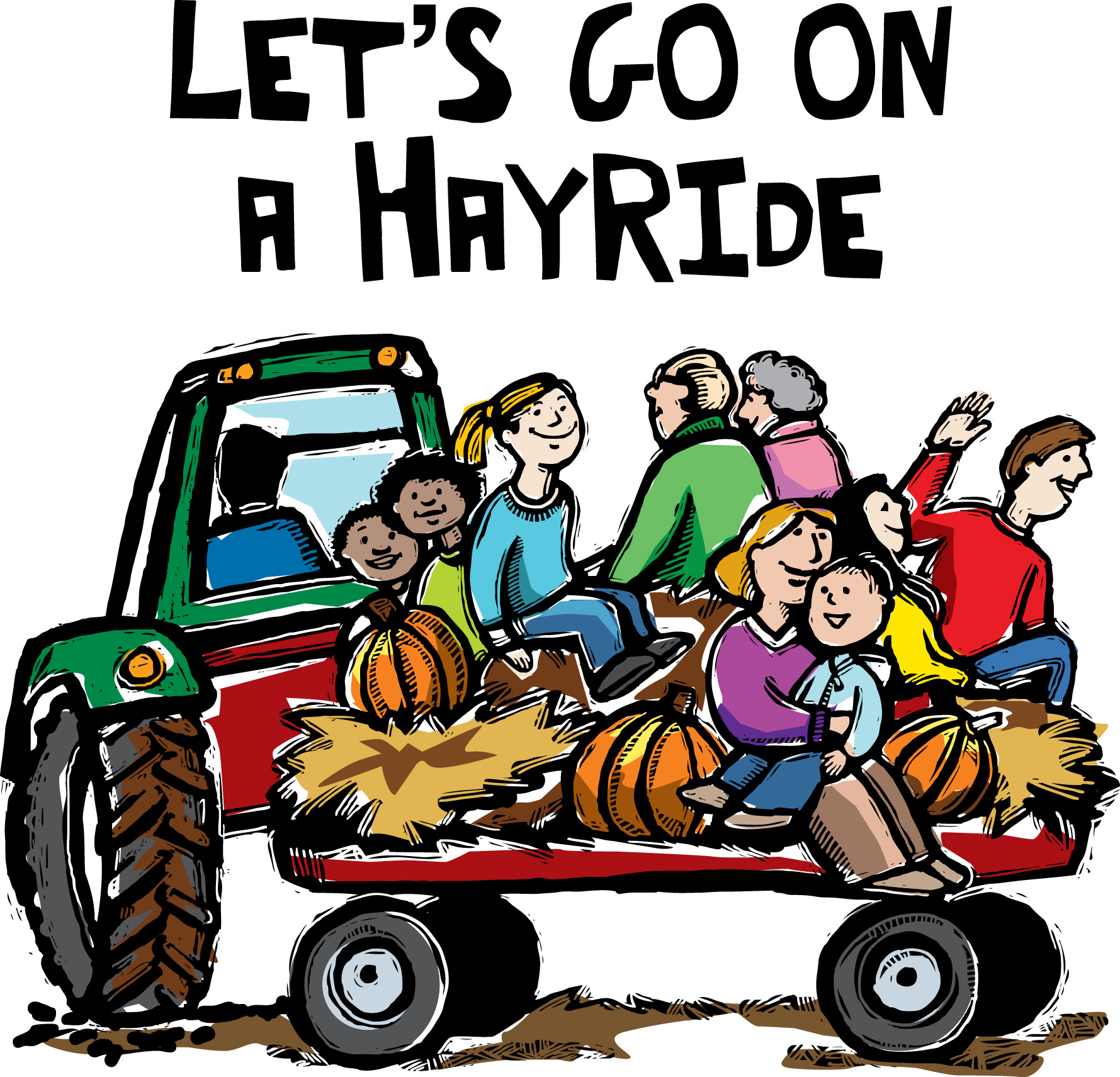1779x1711 Hayride Clipart Many Interesting Cliparts