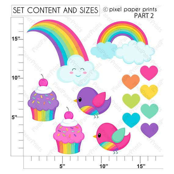 570x570 Best Rainbow Clipart Ideas Very Hungry