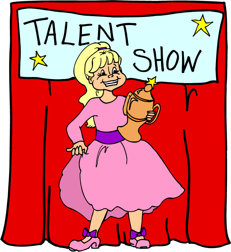 750x816 Talent Show Clipart