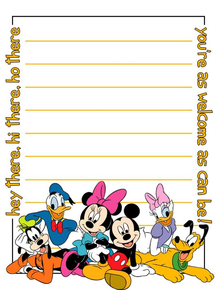 736x981 Disney Clipart School