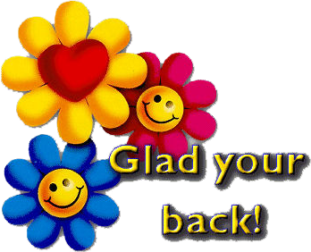 348x282 Welcome Back We Missed You Clipart