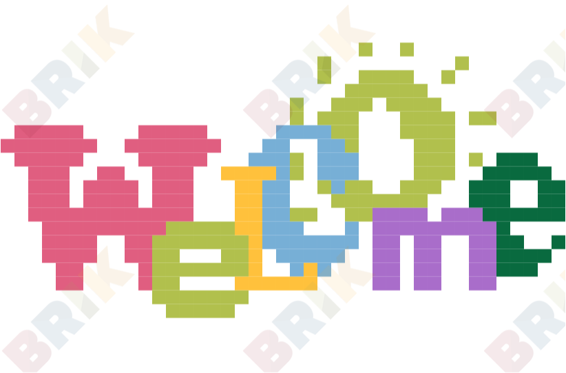 822x542 You'Re Welcome Day Pixel Art Brik